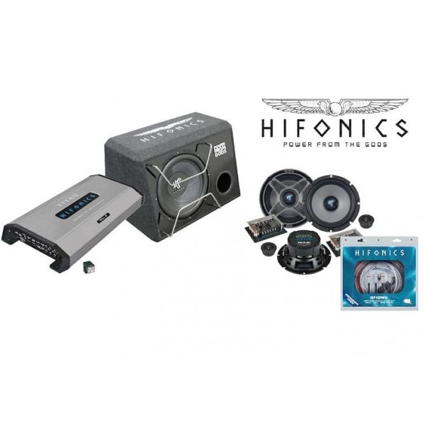 Hifonics Audioset 800 watt 4 kanaals