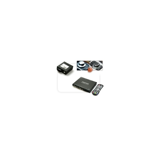 DVBT400 + Multimedia Adapter LWL - w/ OEM Control - CCC/CIC