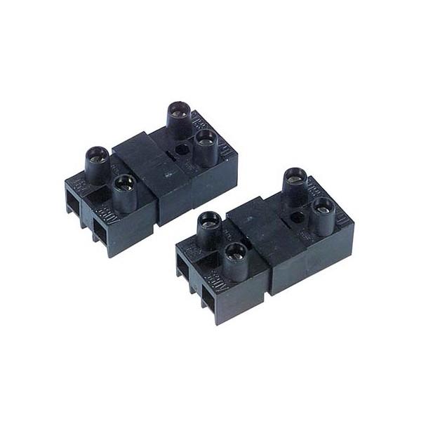 Carcoustic Aansluitblok 2-polig 16A (2x)