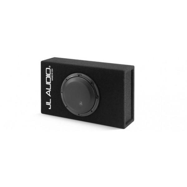 JL audio subwoofer in kist CP108LG-W3v3