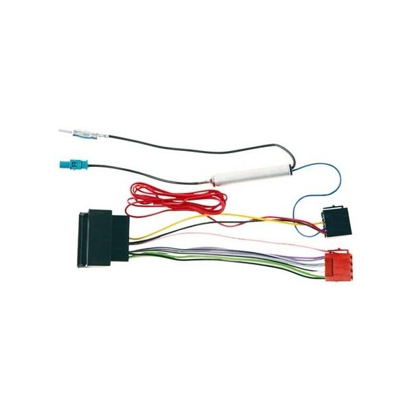 Carcoustic ISO Kabel Skoda/VW + Aerial Din