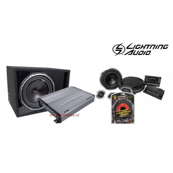 Lightning Audio Pakket PRO 4 kanaals