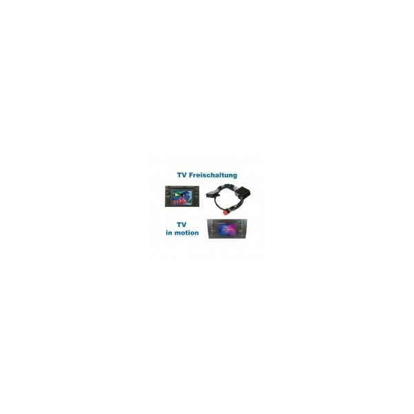 TV in Motion - Plug & Play - VW MFD/Audi RNS-D (Navi+)