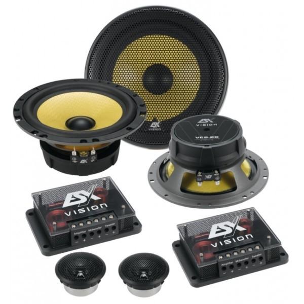 ESX Vision Elite VE6.2C 16,5cm 2 weg Compo Speakers