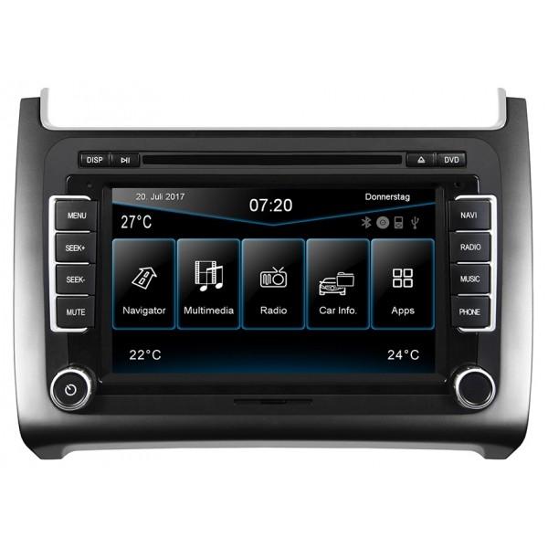 "ESX Vision VN720 Radio/navigatie VW Polo 6C 17.8 cm (7"") touchsc"