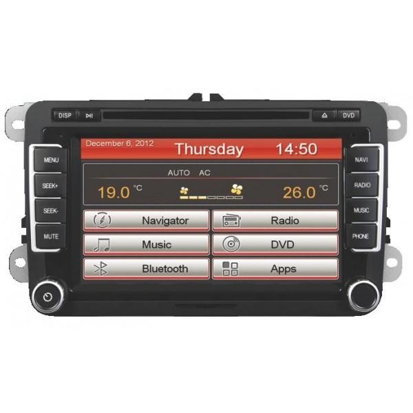 ESX VN710 VW-P1 Pasklare Radio Navigatie VW/Seat/Skoda