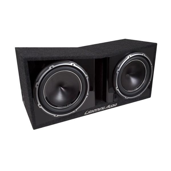 Lightning Audio Subbox Dual 30 cm LA-2X12V